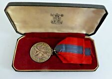 More details for king george vi for faithful service imperial service medal wh fred james ramsay