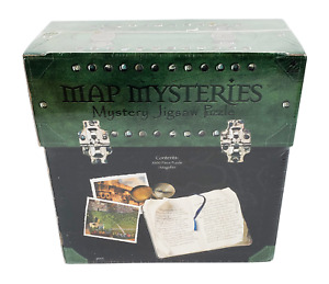 University Games Map Mysteries Fountain of Youth Mystery Jigsaw Puzzle Brand New