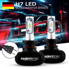 2X H7 25W LED Scheinwerfer Birne Lampe Headlight Kit Autoscheinwerfer 8000LM