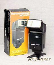 Regula Variant 740-1 SCA  Blitzgerät mit SCA 300 Adapter
