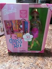 "Mattel~2001~ Barbie ""Dress and Go""~#55308"