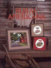 Rural Americana 3 Designs Gloria & Pat Cross Stitch Pattern Booklet