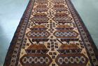 AFGHAN HAND MADE CLASSIC TANKS RUG HAND KNOTTED WAR AGAINST TERRORISM