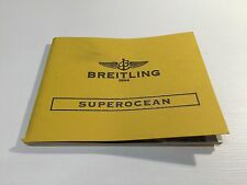 BREITLING - SuperOcean - Instructions Manual - for Watches Relojes Montres