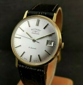 Gents Vintage Rotary Watch. 21 Jewels. ETA2824 Automatic. Super Condition.