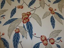 HARLEQUIN - COPPICE - RUSSET / MIDNIGHT - 100% Cotton Fabric - FREE P&P
