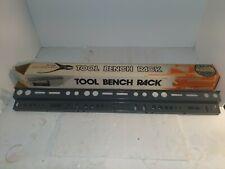 """Big John 36"""" TOOL BENCH RACK Steel Construction NOS Workshop Shed"""