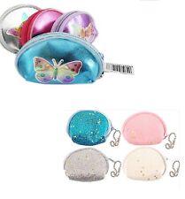 Mini  Butterfly /Glitter Girl's Fancy Coin Money Purse Party Bag Filler Gift Kid