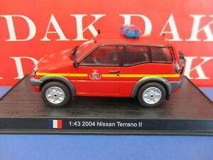 Die cast 1/43 Modellino Auto Pompieri Nissan Terrano II 2004