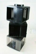 3 Kassettenwürfel Ständer für 32/20 MCs 70er Jahre stapelbar  S-2465