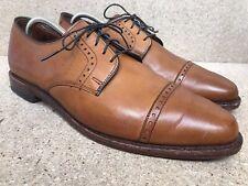 """Allen Edmonds """"Clifton"""" Walnut Brown Leather Cap Toe Oxfords Shoes Men's 10.5 D"""