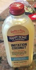 1970's Happy Home Coconut Flavoring 6 Ounce 6 Inch Tall NOS