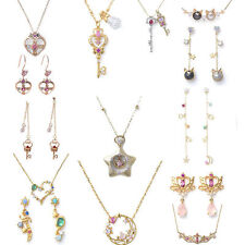 15pcs Sailor Moon 25th anniversary Star Locket  jewelry necklace earring