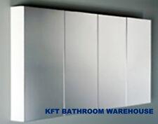 1500mm Pencil  Edge Shaving Cabinet  4 Mirror Doors