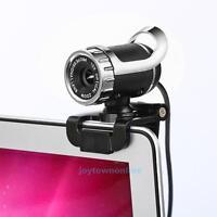 12 MegaPixel USB Webcam Kamera Video HD mit Mikrofon Clip für PC Laptop Desktop