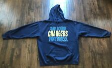 San Diego Chargers Football Pullover Sweater Mens Size XXL