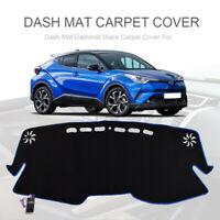 For Toyota C-HR CHR 2016 - 2019 Blue Dashboard Cover Dash Mat Dashmat Sun Shade
