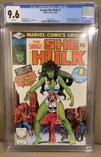 SAVAGE SHE-HULK #1 CGC 9.6 1980 WHITE PAGES 1ST APP Of SHE-HULK JENNIFER WALTERS