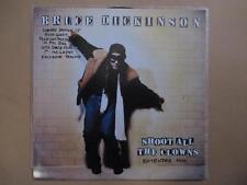 "Bruce Dickinson (Iron Maiden), 12"" single, foldout poster, coloured vinyl 7"""