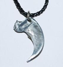 CAVEBEAR Claw Necklace (Metal - Fossil Replica)  Cave Bear #61 2o