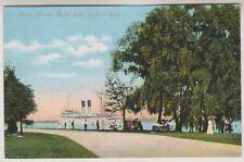 USA postcard - River Drive, Belle Isle, Detroit, Mich.
