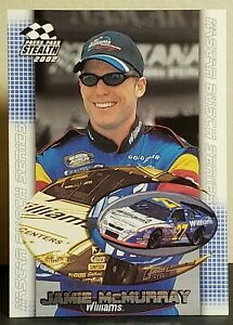 Jamie McMurray 2002 Press Pass Stealth #51 Busch Rookie (#27 Williams Chevy)