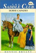 Horse Capades (Saddle Club)-ExLibrary