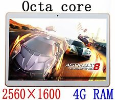 9.7 inch Tablet Octa Core 2560X1600 IPS Bluetooth RAM 4GB ROM 64GB 8.0MP 3G MTK6