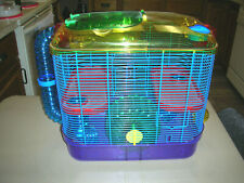 """KayTee Super Pet Critter Trail Two ~ Two-Level Habitat 16 x 16 x 10"""" for Hamster"""