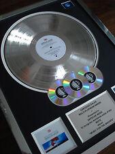 DEPECHE MODE MUSIC FOR THE MASSES MULTI PLATINUM DISC LP RECORD AWARD