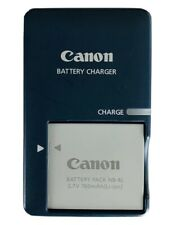 Canon Camera CB-2LV Charger w/ NB-4L Battery Pack