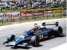 Eddie Cheever Hesketh 308 GP sudafricano di KYALAMI 1978 F1 fotografia foto F1