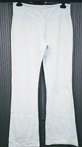"Bella - XL ( size 16 )  - Ladies White Stretchy Leggings - 32"" inner leg"