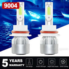 8000K 9004 LED Headlight Kit for Dodge RAM 1500 2500 3500 1994-2001 Hi-Lo Beam