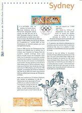 Francia/Olympia 2000 MiNr 3481/82 o solo Tagblatt con farbzudruck