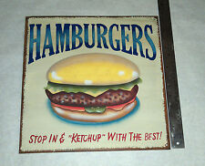 "Stop In & ""Ketchup"" with the best! hanging sign in great condition Advertisement"