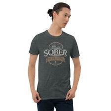Sobriety One Day At A Time AA Hella Sober Tee Tees T-Shirt 2
