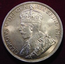 1936 CANADA REAL .800 SILVER DOLLAR high AU-UNC BU George V