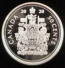 Canada 50 Cents 2020 99.9% Silver
