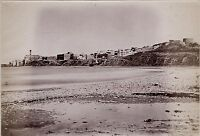 Tiberias Galilea Palestina Israele Foto Albumina Stampa Verso 1890 Piccolo Forma