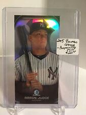 2015 Bowman Chrome : Mini Prospect File #PP21 Aaron Judge