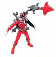 POWER RANGERS SPD Space Police RED toy action figure with weapons Harness