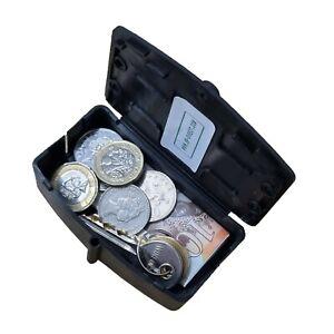 Magnetic Key Hide Storage Stash Box Hidden Key Hide Safe Security - S5BlkM