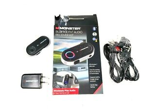 New open box.Monster Bluetooth Audio Car Phone Receiver Kit