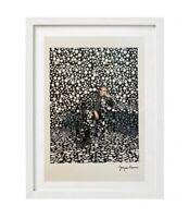 Yayoi Kusama - Georges Clooney Print Signée et numérotée