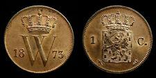 Netherlands - 1 Cent 1873