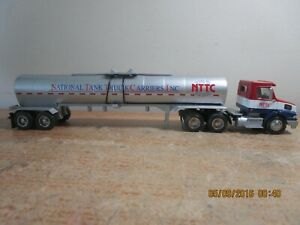 NATIONAL TANK TRUCK CARRIERS INC NTCC 1/50 SCALE TOY TRUCK