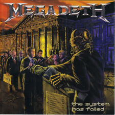 The System Has Failed by Megadeth CD, Sanctuary (USA) + BONUS COMIC BOOK!!