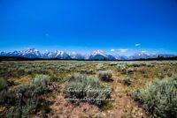 """Landscape photograph""""Grand Teton National Park"""" Calvin Chen signed (50Megapixel)"""