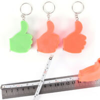 Handbag Keychain Key Ring Mini Tape Measure Pendant Charms Retractable Ruler s/